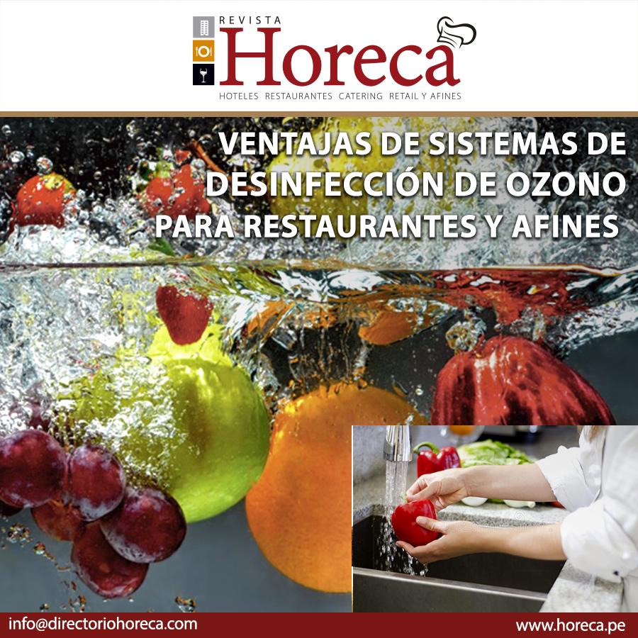 Soluciones de Desinfección para Restaurantes